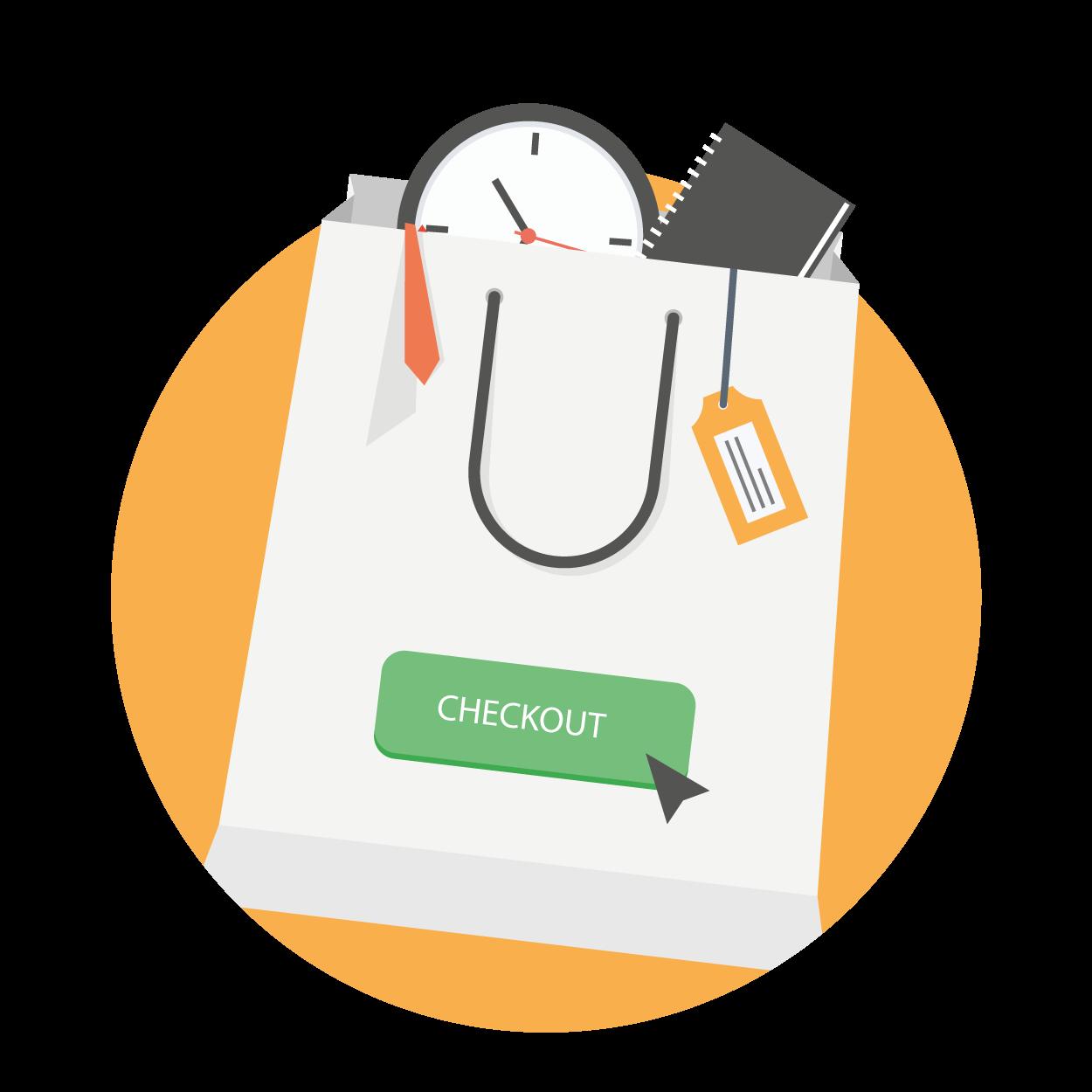 Objednání : vyberete produkt a dokončíte objednávku